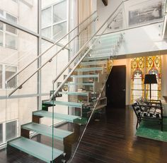 Tour A Converted Church In Manhattan - Jude Law's NYC Rental For Sale