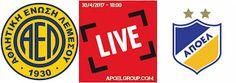 APOELGROUP.COM: LIVE: ΑΕΛ - ΑΠΟΕΛ