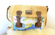 This wonderful shoulder bag, handbag is made from cork and leather. Perfectly finished, High Quality, durable and waterproof. This bag can be a great gift.      Features:    - Made from Cork-Eco-friendly material    - Soft and durable    - One color      External size    20 x 15 x 5cm      How to clean cork?    - Cork is stain and water resistant.    - Cork is very easy to maintain as new, just need to clean with a dump soft cloth.      *Colours may differ slightly from the original due to…