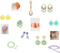 """""""Light Spring jewelry"""" by tinabee1967 on Polyvore"""