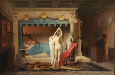 Truth Coming Out Of Her Well To Shame Mankind Artwork By Jean Leon Gerome Hand-painted And Art Prints On Canvas For Sale,you Can Custom The Size And Frame Charles Gleyre, Canvas Art Prints, Oil On Canvas, Jean Leon, Academic Art, Art Sculpture, French Artists, Art Reproductions, Paintings