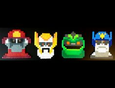 The Transformers Rescue Bots    8Bit Perler Set by LeggoMyMegghos, $20.00