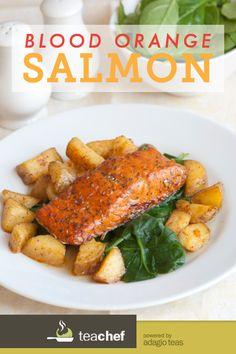 Blood Orange Salmon Recipe by Susan Lynch Healthy Salmon Recipes, Fish Recipes, Seafood Recipes, Paleo Recipes, Crockpot Recipes, Cooking Recipes, Salmon Dishes, Seafood Dishes, Dibujo