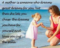 May all the dreams you chase become your reality.  I love you both so very much!