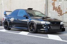 One of the best looking Imprezas I've ever seen! - Japanese