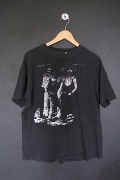 Depeche Mode World Violation 1990 vintage Tshirt size XL. This shirt is in good vintage condition with some fading throughout and some of the graphic has completely fadded away. Super soft. Measurements: Pit to Pit: 21 Front of Collar to Bottom: 25 We do our best to describe all items. All shirt