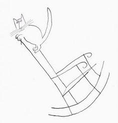 Saul Steinberg's Cats