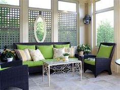 Image Search Results for screened porch decorating