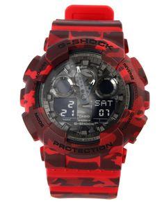 G-Shock by Casio - GA-100 Camoflauge watch