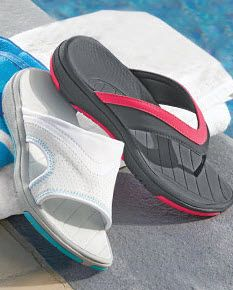 Don't leave for the pool or beach without these! Shop our water resistant, waterproof, anti-slip shoes and more.
