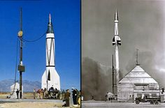 V-2 sounding rockets, armed Russian military space stations and all manner of space vehicles, famous and obscure.