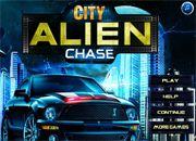 Alien City Chase   Juegos de coches y Motos - jugar Carros online