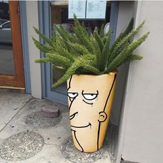 Simpson Inspired Street Art by @sean_charmatz