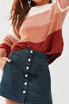 Trendy Fall Outfits, Teen Fashion Outfits, Look Fashion, Pretty Outfits, Stylish Outfits, Summer Outfits, Woman Outfits, Fall Outfits For School, Back To School Outfits Highschool