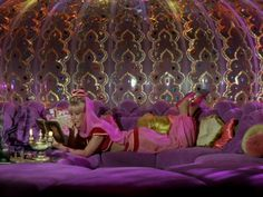 I Dream of Jeannie: I've always loved her clothes and bottle house!