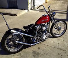 Shovelhead chopper Chopper motorcycles and custom motorcycles. Sometimes bobbers but mostly choppers, short chops and custom bikes. Harley Davidson Knucklehead, Harley Bobber, Chopper Motorcycle, Harley Davidson Chopper, Bobber Chopper, Harley Davidson News, Harley Davidson Motorcycles, Custom Motorcycles, Vintage Motorcycles