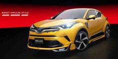 Eye-searing Toyota C-HR Modellista body kits ready for Japan #Eyesearing #Toyota #CHR #Modellistabodykits #cars
