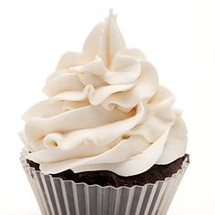 Fluffy Frosting using KitchenAid Stand mixer Attachments: Bowl and wire whip Cupcake Recipes, Cupcake Cakes, Dessert Recipes, Icing Recipes, Just Desserts, Delicious Desserts, Yummy Food, Food Cakes, Fluffy Frosting Recipes