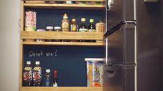 ☆冷蔵庫横のすきまを有効活用!ワンバイ材で作るストッカーDIY☆|LIMIA (リミア)