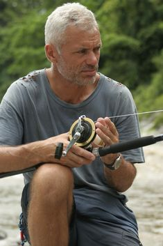Jeremy Wade, extreme fisherman on River Monsters. Nice to look at and listen to. Jeremy Wade, John Wade, Wading River, River Monsters, Catfish, Colorful Pictures, Good People, In This World, Eye Candy