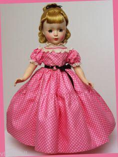 """MINT-ALL ORIGINAL 14"""" 1950 AMY...MADAME ALEXANDER LITTLE WOMEN"""