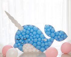 [New] The 10 Best Crafts Today (with Pictures) - Oh little narwhal. Am I only one over here obsessing over these fun balloon displays? Check out all the narwhal party inspiration on my website (link in bio) from Whale Party, Ocean Party, Balloon Box, Balloon Display, Qualatex Balloons, Birthday Balloon Decorations, Party Hacks, Baby Party, Party Themes