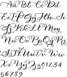 easy hand lettering guide bing images