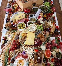 Charcuterie Centerpiece | Entertaining Ideas | Pinterest ...