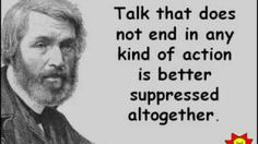 Leaders don't just talk... they walk the talk... Thomas Carlyle
