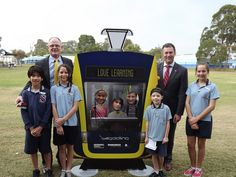 Love Learning launch by Gold Coast light rail, via Flickr