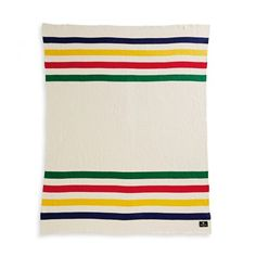 The classic knitted throw from Hudson Bay company - 134.99$. You can't get comfier than this. / Tellement confo! #labaie #thebay #throw #blanket #countryliving #chalet