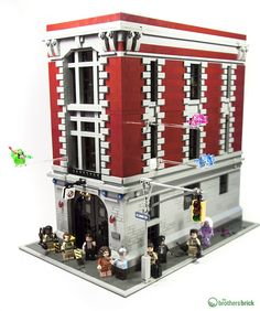 75827 LEGO Ghostbusters Firehouse Headquarters [Review]