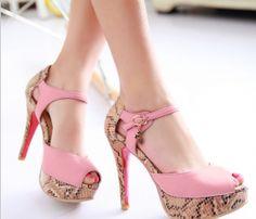 Pinky heigh heel