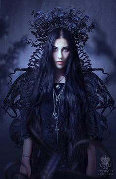 Gothic ~~ For more:  - ✯ http://www.pinterest.com/PinFantasy/lifestyles-~-gothic-fashion-and-fantasy/