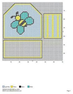 Honeybee napkin holder