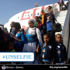 Operation Dove's Wings brought the last of Ethiopian Jews to Israel in 2013, thanks to The Fellowship donors.