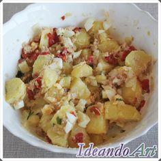 """Patatas aliñadas o """"papas aliñás"""" al estilo andaluz by IdeandoArt"""