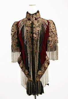 Beaded mantle from Lord & Taylor, 1883