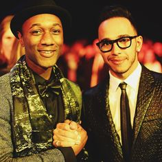 """""""Good to see my friend @aloeblacc last night! Such a talented & humble guy he is."""""""
