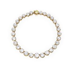 PROPERTY FROM THE COLLECTION OF MRS PAUL 'BUNNY' MELLON An Exquisite Gold and Diamond Rivière, Cartier