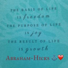 Abraham hicks, law of attraction