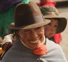 Mother and child from Ecuador