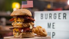 This is the burger to end all burgers   SORTEDfood