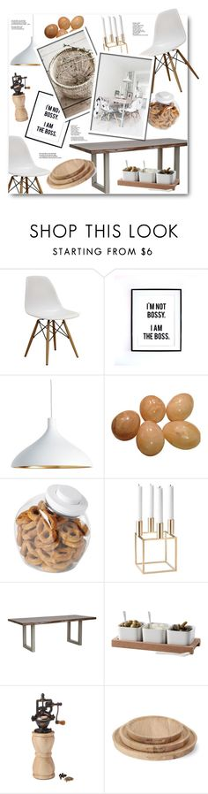 """""""Untitled #852"""" by anitadz ❤ liked on Polyvore featuring interior, interiors, interior design, home, home decor, interior decorating, Pablo, OXO, By Lassen and Universal Lighting and Decor"""