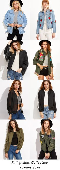 Jackets Collection - romwe.com