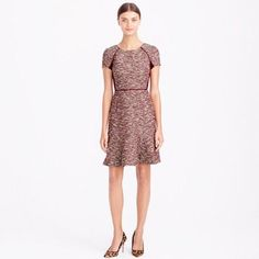 J.Crew Size 0 Tweed Dress - Perfect Condition!