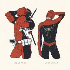 Cr : to the owner Marvel Comic Universe, Comics Universe, Marvel Dc Comics, Marvel Avengers, Deadpool X Spiderman, Spiderman Art, Spaider Man, Best Superhero, Marvel Fan Art