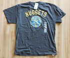 For Sale - NWT mens gray Denver Nuggets NBA Western Conferene t-shirt size X- Large - See More At http://sprtz.us/NuggetsEBay