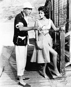 MR. HOBBS TAKES A VACATION (1963) - James Stewart & Maureen O'Hara - 20th Century-Fox - Movie Still.