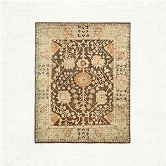 View the Samsara 6 x 9 Rug from Arhaus. As early as the 15th century, they began making very special rugs in Oushak, Turkey, and in time they were f